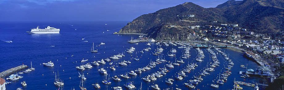 Avalon Harbor, Santa Catalina Island, California