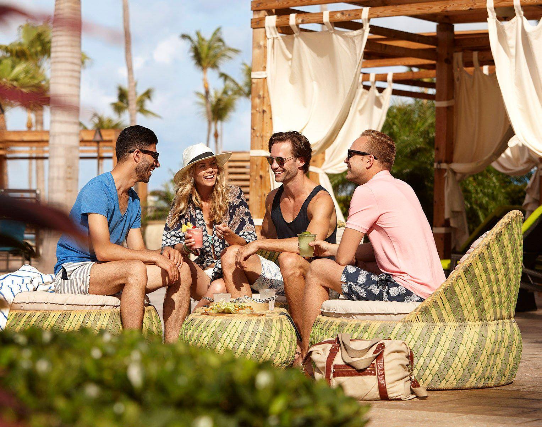 Resort Lounging Marriott Aruba