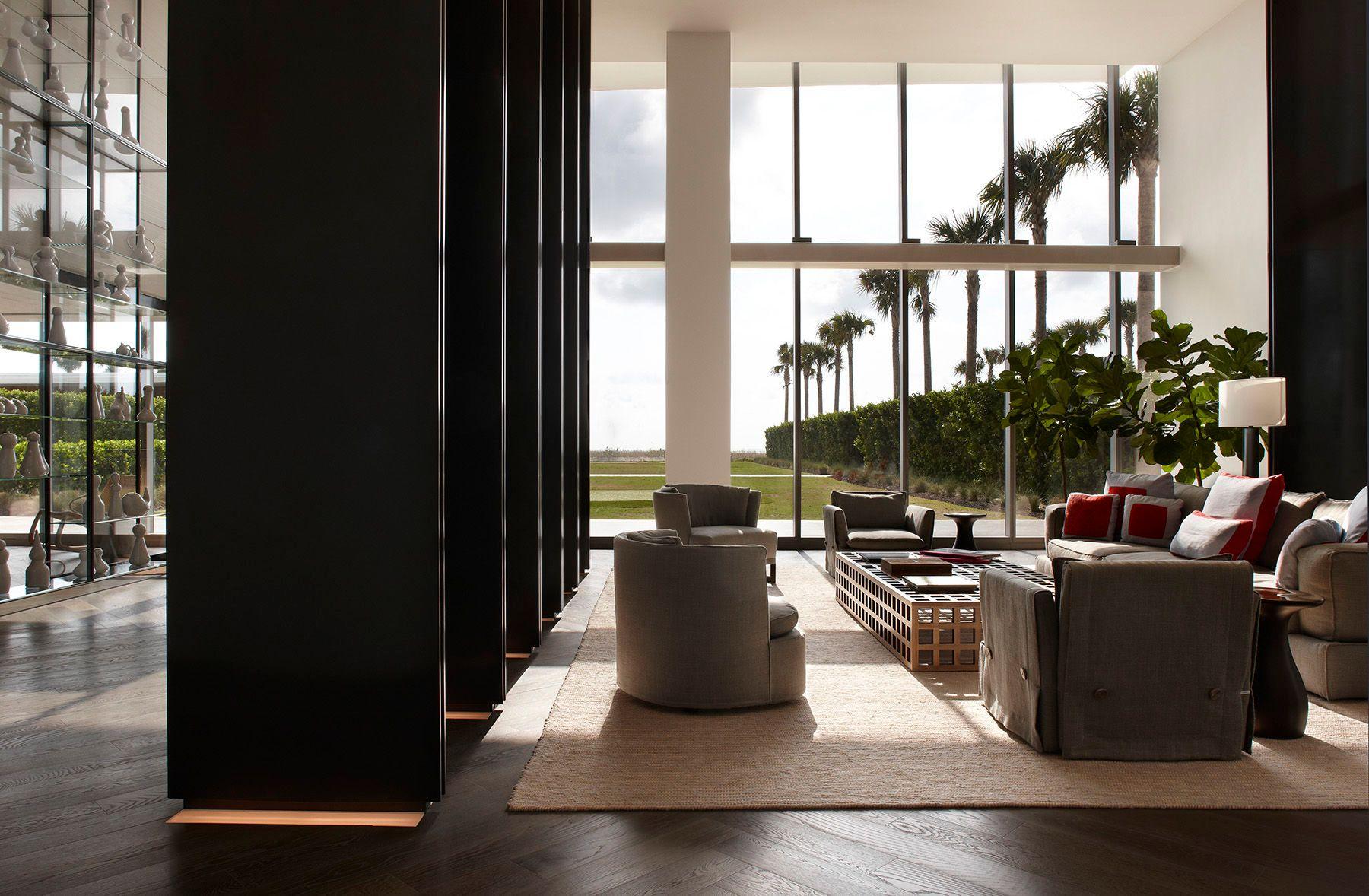 Oceana Condominiums Miami Lounge