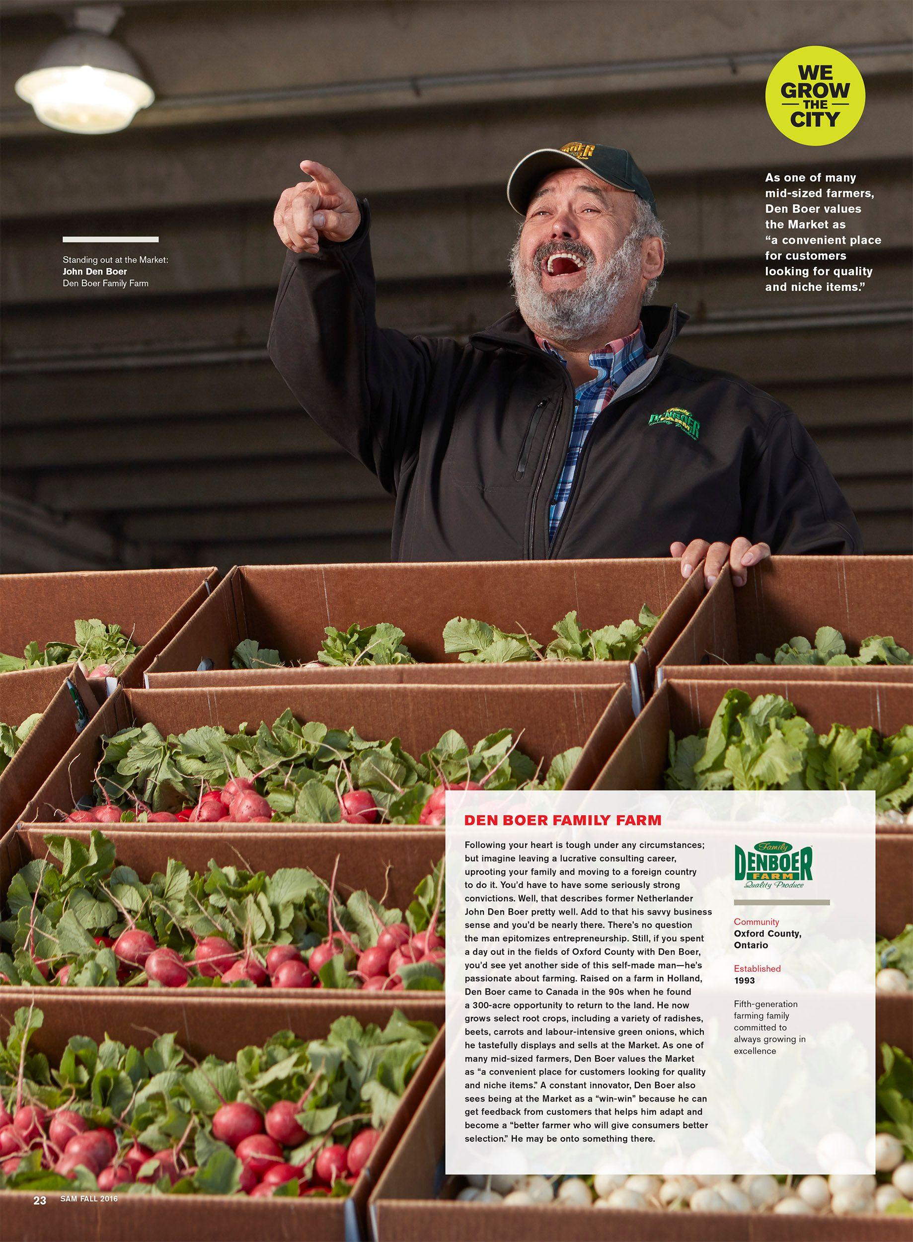 SAM Magazine We Grow the City