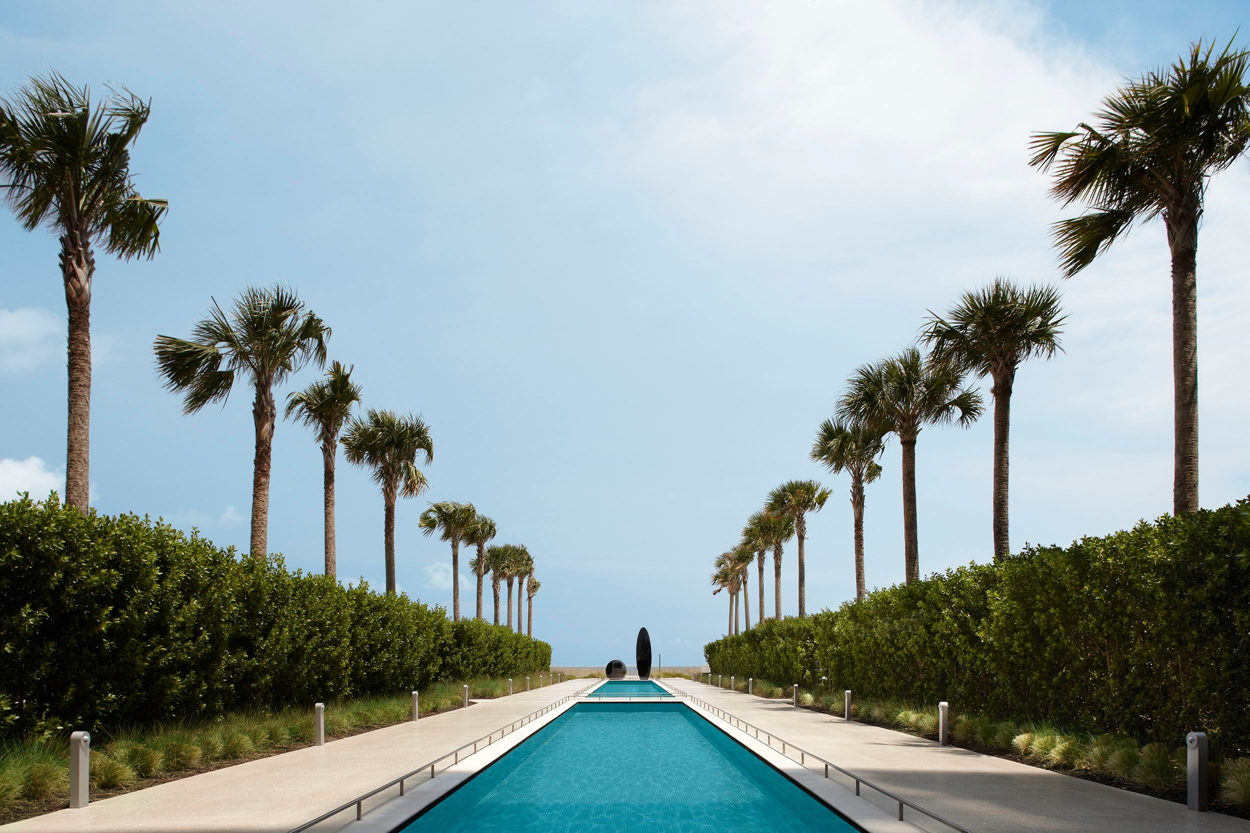 Oceana Reflecting Pool Miami