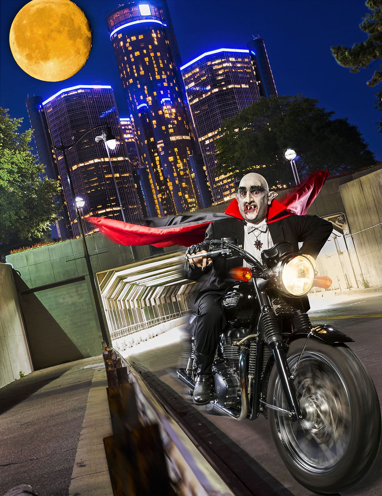 Vampire Motorcycle
