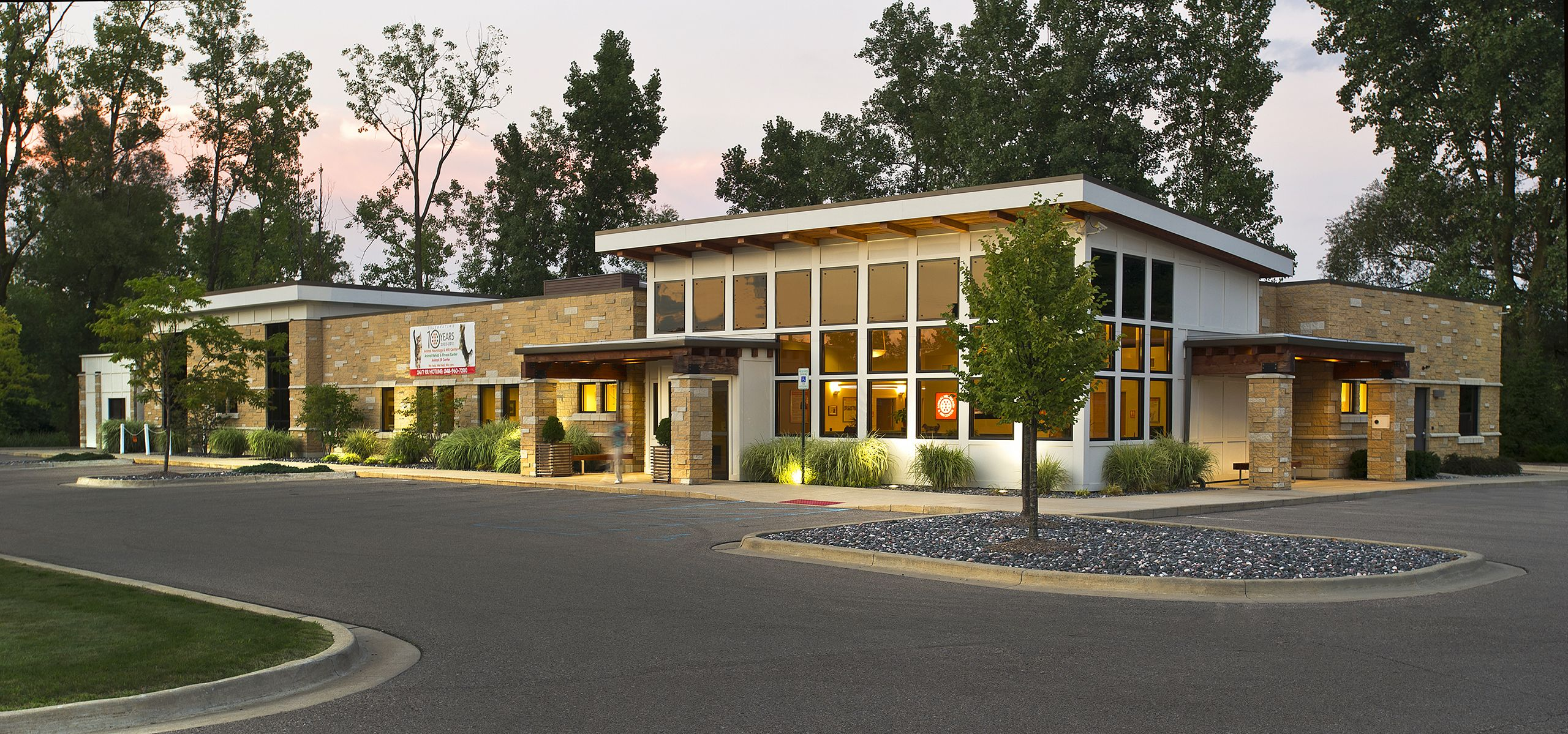 Vet Clinic Exterior