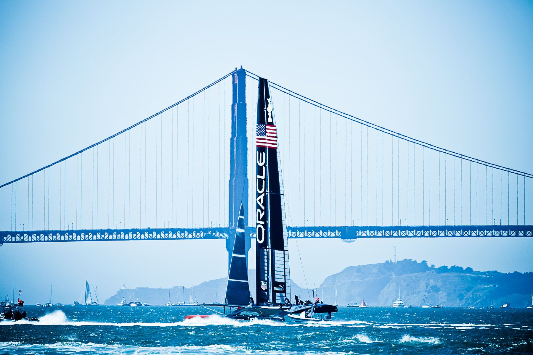 Silicon Valley Sailing-America's Cup