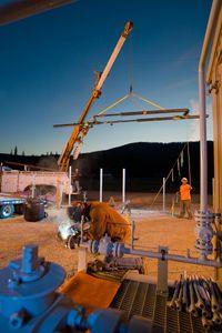 Gas Line Work