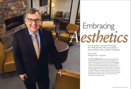 Med Esthetics Magazine photography by J. Craig Sweat Photography