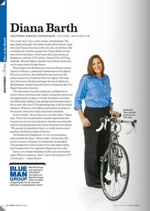 Southwest Airlines Spirit magazine story