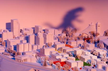 Godzilla shadow Spokane Photographer