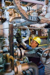 Gas Line Worker