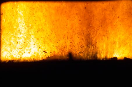 fire used to produce alternative energy