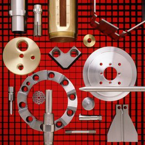 High-Tolerance Machine Parts for Brochure Cover