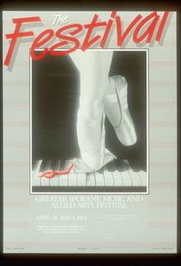 Cover photograph of Festival Arts