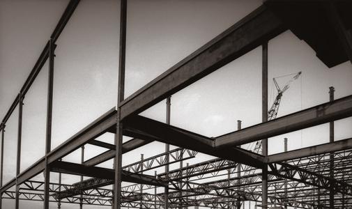 Beams and Industrial site Spokane