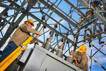 Avista Substation Utility Workers