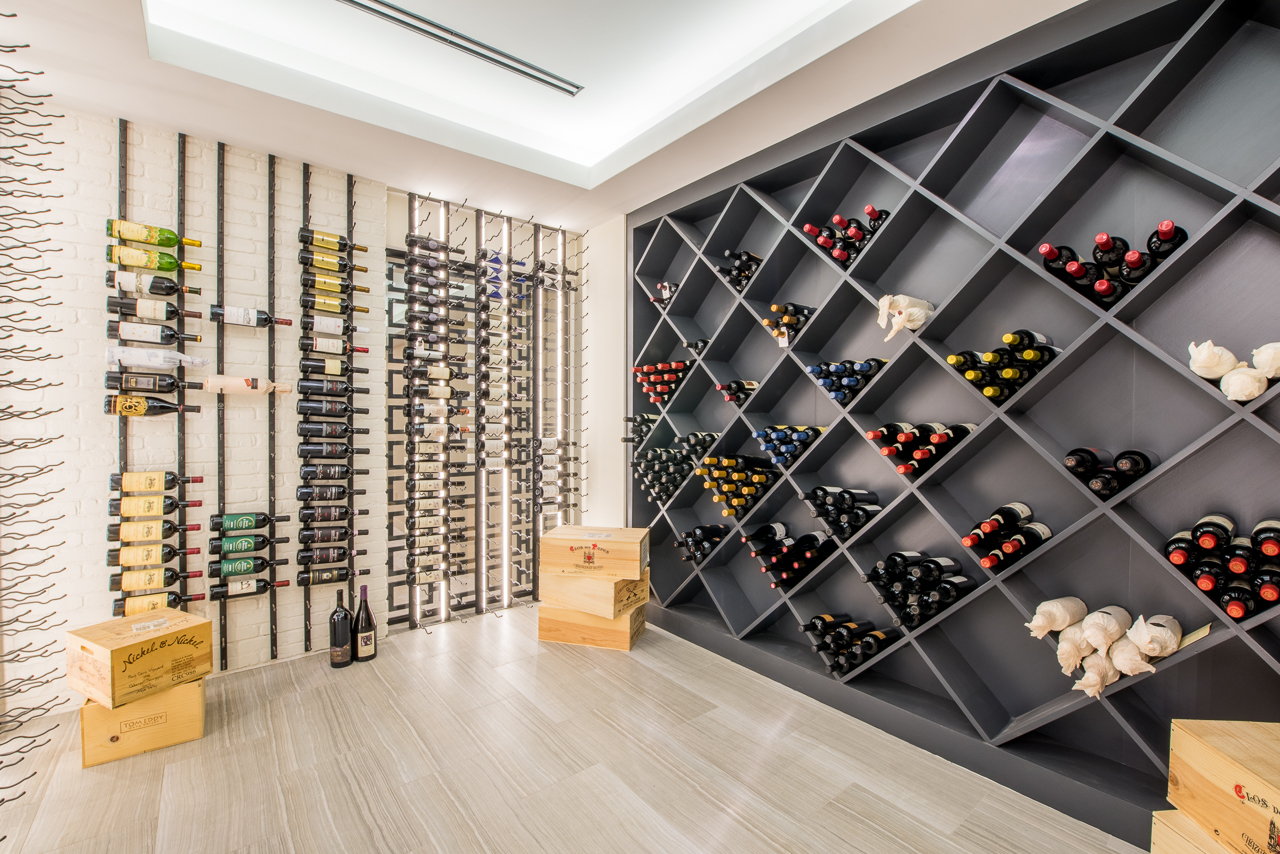 Residential Wine Cellar