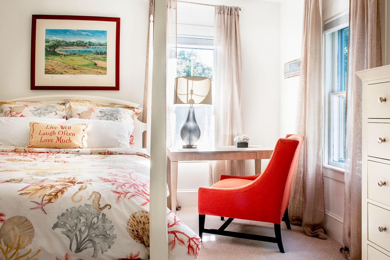 Cape Cod Guest Bedroom