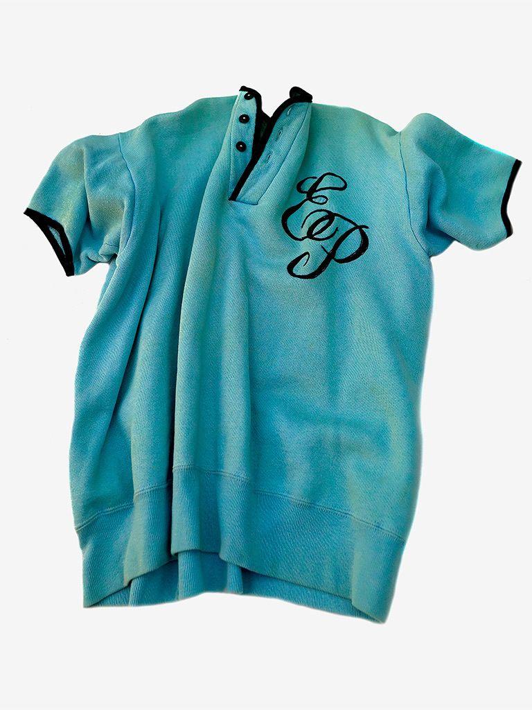 Elvis' monogramed sweatshirt