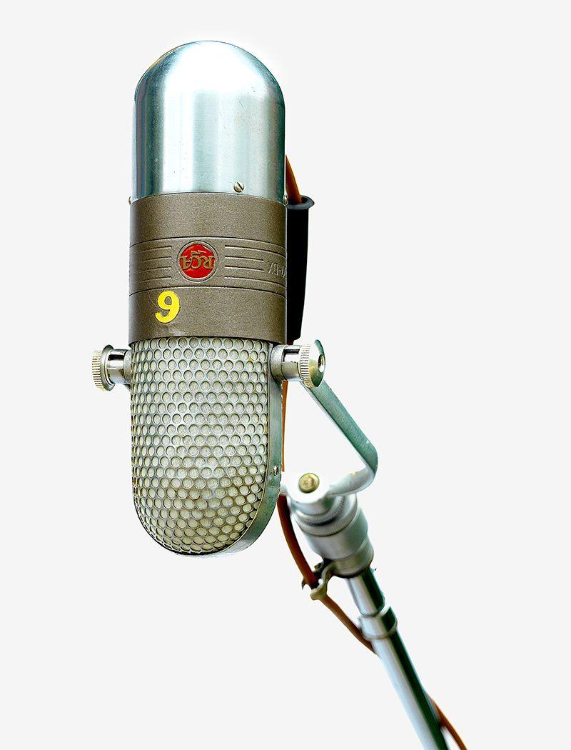 Al Green's recording mic
