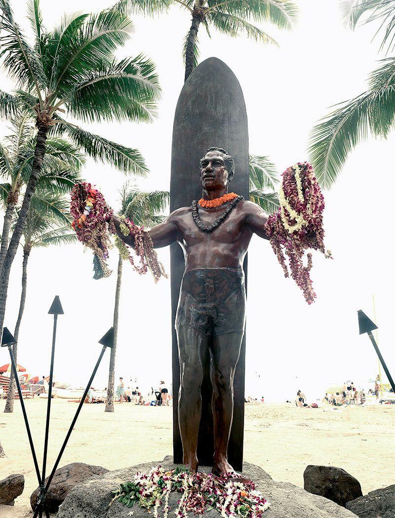 Duke Kahanamoku Memorial