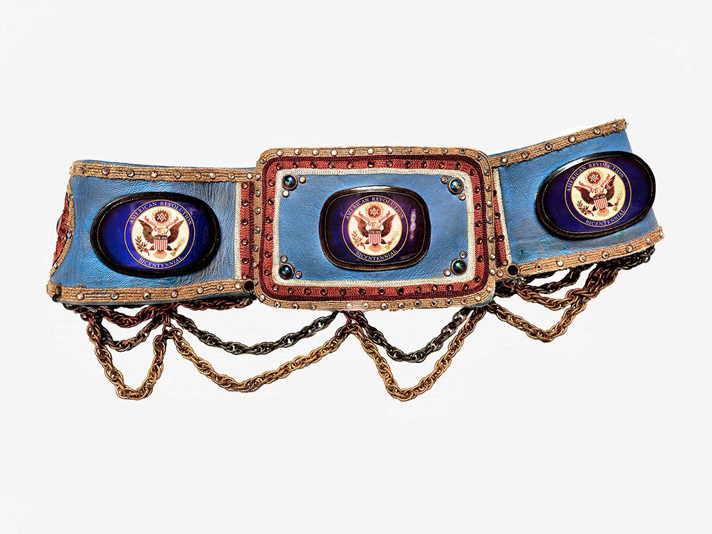 Bicentennial stage belt