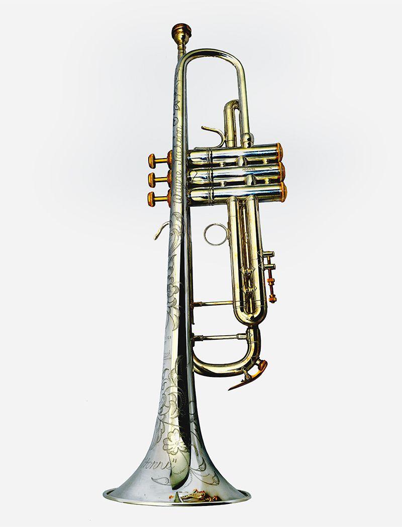 Wayne Jackson's trumpet