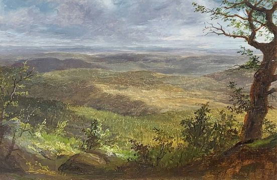 Lemuel Maynard Wiles Shawangunk Mountains unframed