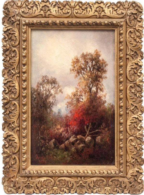 Annie Cornelia Shaw Autumn Framed