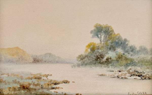Francis Augustus Silva Tranquil Stream, c. 1880