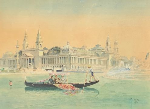 Peter Wolze 1893 Exposition