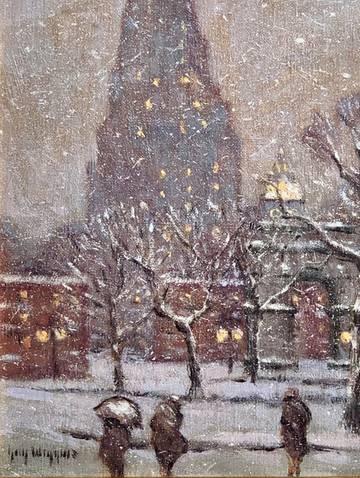Guy C. Wiggins Washington Square - Winter