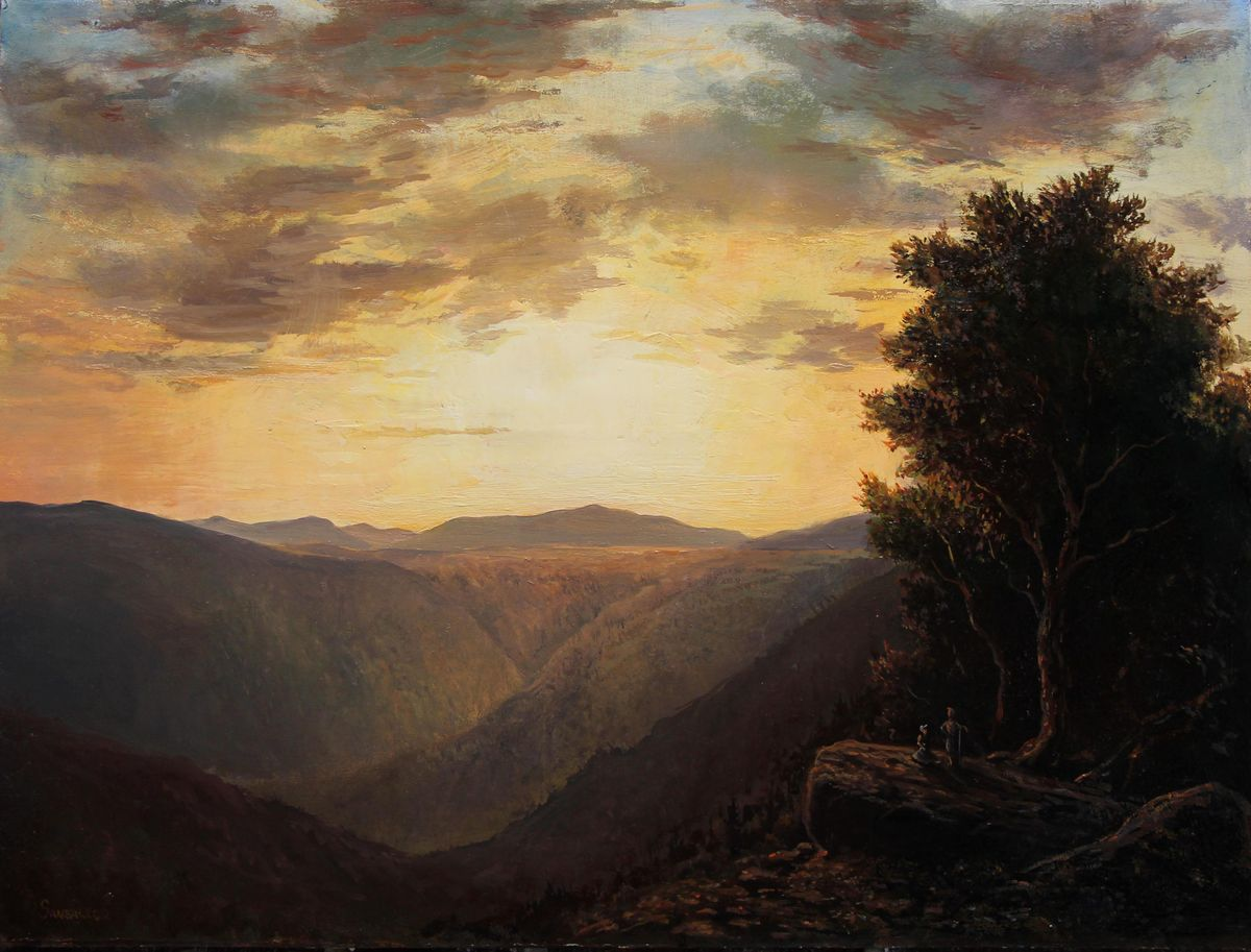 Lauren Sansaricq_ Clouds Parting at Sunset, View From Inspiration Point_....jpg