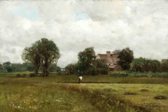 Dwight W. Tryon Glastonbury Meadows unframed