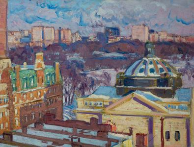 Gifford Beal View from the Studio Unframed