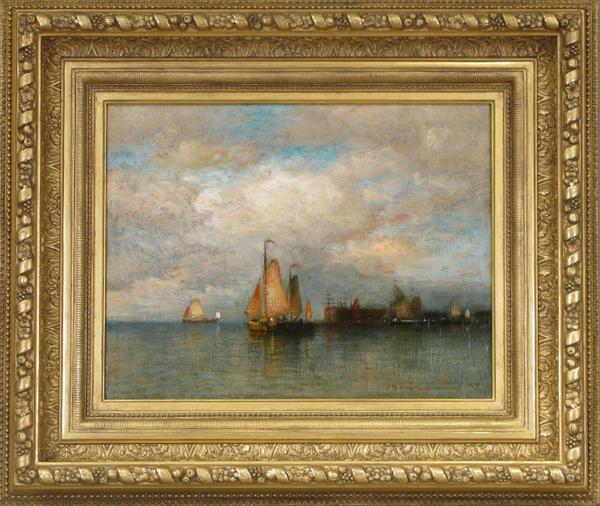 COLMAN Governors Island Framed