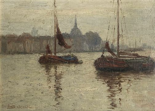 Evelyn Montaque Bicknell Dordrecht unframed