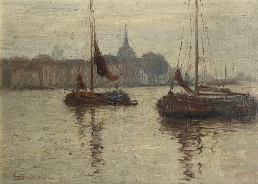 Evelyn Montaque Bicknell Dordrecht unframed