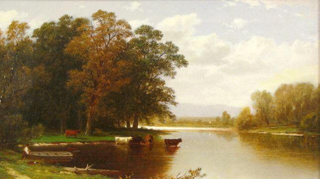John William Casilear Going for the Herd, 1872