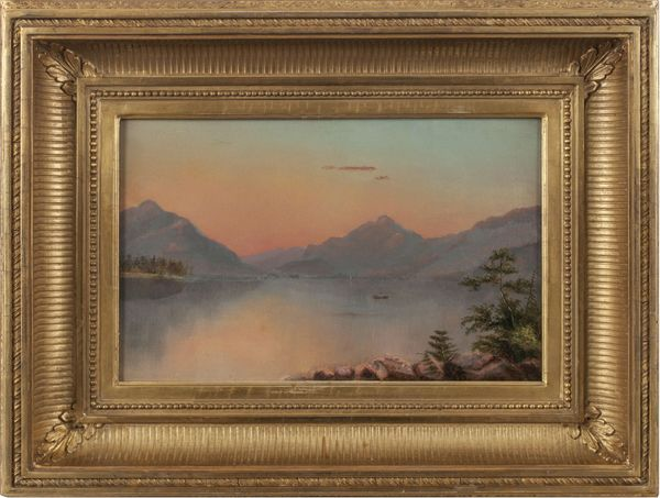 Suzanne C. Porter Lake Placid, Adirondacks Framed