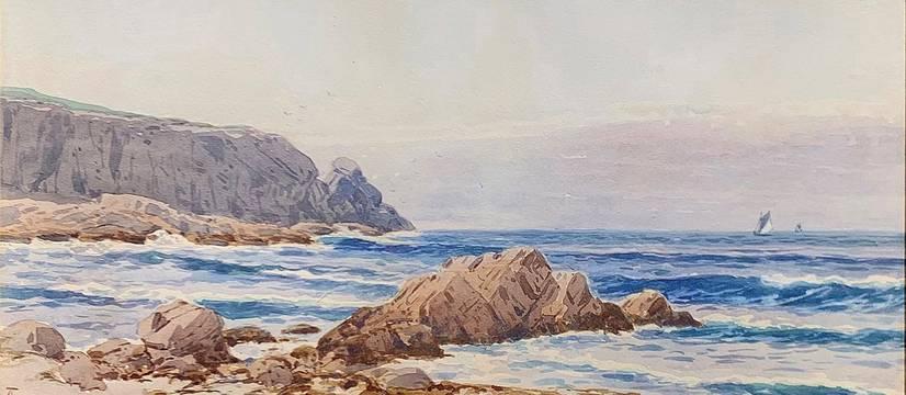Alfred T. Bricher Coast of Grand Manan Island unframed