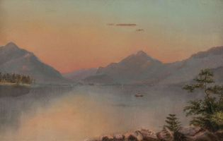 Suzanne C. Porter Lake Placid, Adirondacks Unframed