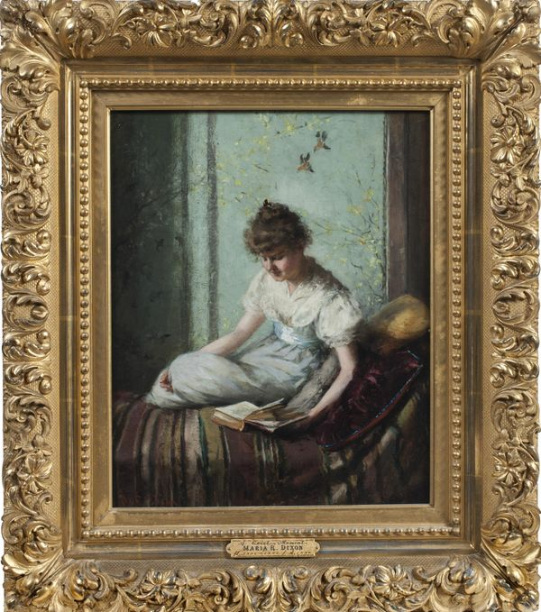 MARIA R. DIXON A Quiet Moment Framed