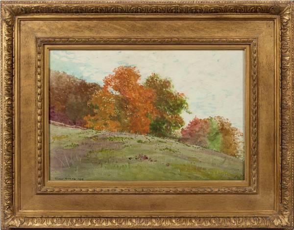 Homer Winslow Autumn Trees 1878