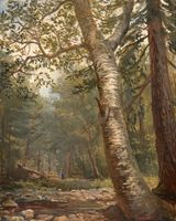 Sansaricq_Wooded_Interior_of_a_Birch_Unframed.jpg