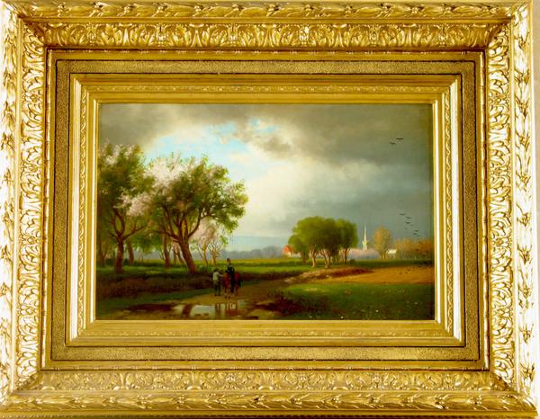 William Hart Springtime Blossoms Framed