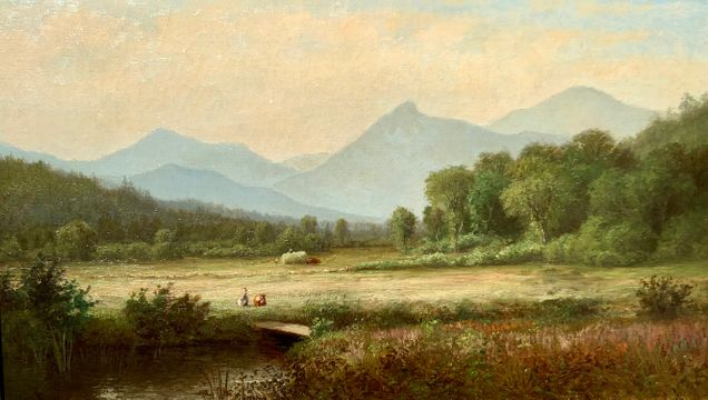 Laura Woodward Camel's Hump, Vermont, 1877