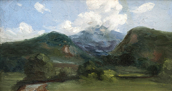 Bedell_MountainLandscape_Unframed