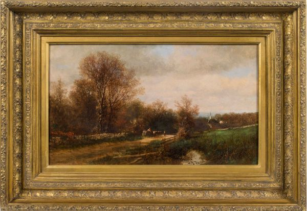 James McDougal Hart A Day in November, 1863 framed
