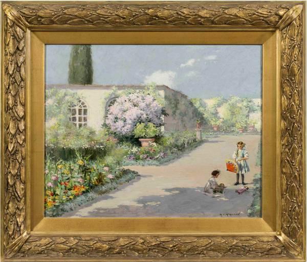Mary Lane McMillan An Italian Garden, 1910