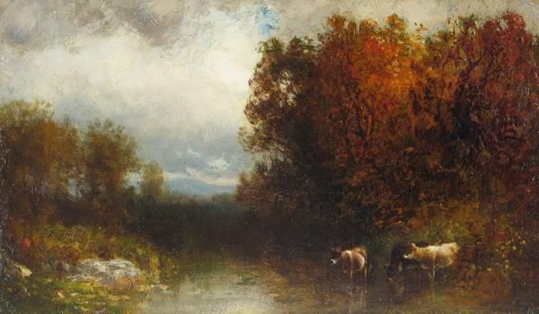 William Hart Autumn Brook