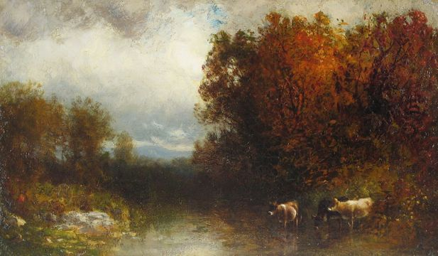 William Hart Autumn Brook
